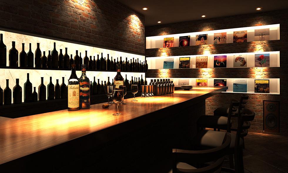 gallery01 CGレストランカウンター